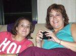 Katelyn and Melanie visit with sister Maribeth Yoder-White