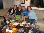 Nat and Jen Whitman & Amy Robinson for Obama night