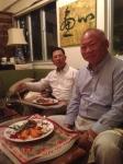 Patrick Ho and Peter Tong