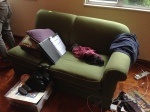 Two days after the move - the dismantling of the SOFA