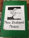 Kept a notebook of places I/we returned to several to many times.