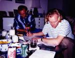 SOFA:  1994/95 Before getting Married Paul Greene & Randall Davidson