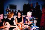 Sarah,___,  Beth and Irene on the SOFA