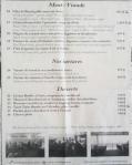 Brasserie du Paris Menu 1
